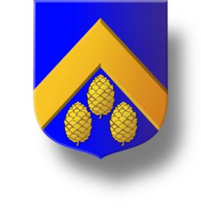 Blason et armories famille de Vivier