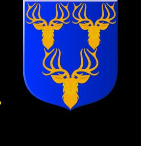 Blason et armoiries famille de Ceberet