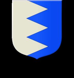 Blason et armoiries famille de Chaussecourte