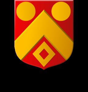 Blason et armoiries famille  de Labauve