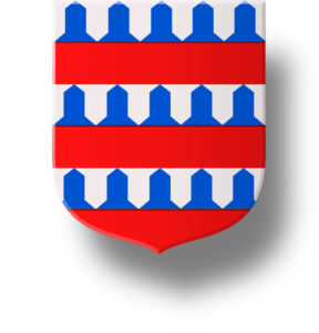 Blason et armoiries famille de Coucy