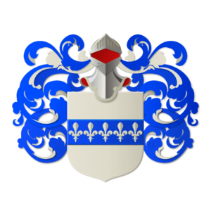 Blason et armoiries famille Leveillé