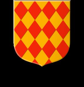 Blason et armoiries famille de La Fontaine d'Esches