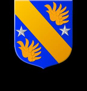 Blason et armories famille de La Bussière