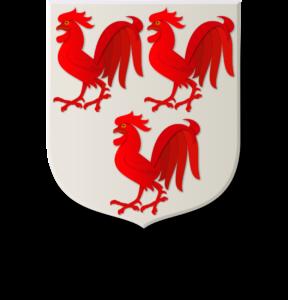 Blason et armoiries famille Rouxel d'Auquoy