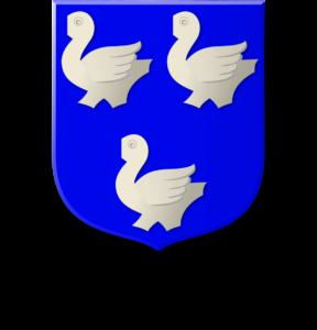 Blason et armoiries famille Lamodière