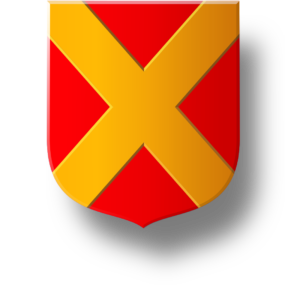 Blason et armoiries famille du Croisier