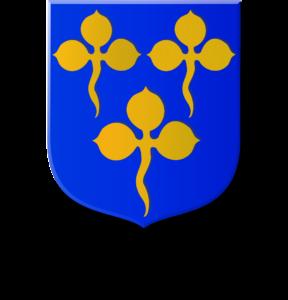 Blason et armories famille du Monceau
