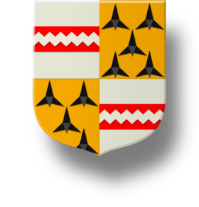 Blason et armories famille du Plessier